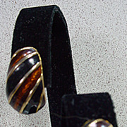 Kenneth Lane, Tear Drop Shape Clip on Earrings