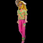 Blond Color Magic Barbie in Fashion Fun Outfit, Mattel, 1966!