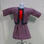 Madame Alexander Cissette Size Suit with Accessories.