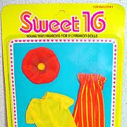 MOC Mattel Barbie Sweet 16 Outfit #9551, 1976