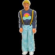 Mattel 1978 Sun Lovin' Malibu Ken in Best Buy Outfit!