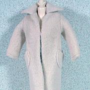 Vintage Mattel Barbie Outfit, Peachy Fleecy Coat, TM, 1959