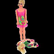 Mattel Bld Barbie Hair Fair Complete on Standard Body 1967