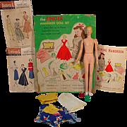 """1949 Singer  12"""" Mannikin Doll with Accessories"""