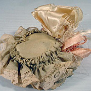 SOLD Vintage French Fashion Doll Hat