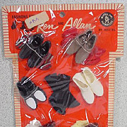 "NRFB Mattel Ken Pak Set, ""Best Food Forward"" 1960's"