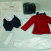 "Shirley Temple Outfit, ""Just Around The Corner"" from the Danbury Mint Collection"