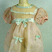 Rare Ideal Shirley Temple NRA Tagged Dress, 1930's