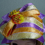 Madame Alexander Cissy Size Ribbon Cocktail Hat
