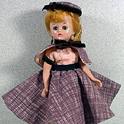 SOLD Vintage Vogue Jill Doll in 4 Piece Ensemble, 1957