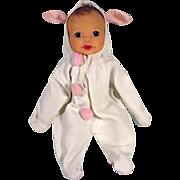 Linda Baby in Bunny Suit, Terri Lee Doll Company, 1950's