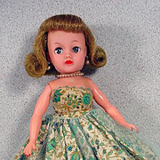 Ideal Little Miss Revlon in Tagged Cocktail Dress, 1950's