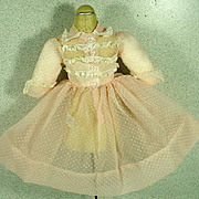 Vintage Madame Alexander Elise Dotted Swiss Day Dress, 1950's