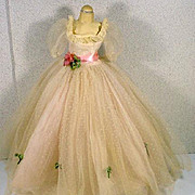 Vintage Madame Alexander Cissy Gown and Slip, 1957