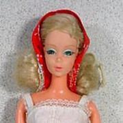 Mattel 1976 Beautiful Bride Barbie Doll in Best Buy Outfit