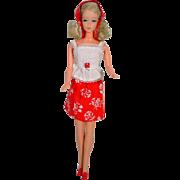Mattel 1976 Beautiful Bride Barbie Doll in Best Buy Outfit