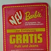 Mattel Sweet 16 Barbie Promo Outfit From Germany, MOC, 1974.