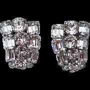 SALE Gorgeous Eisenberg Vintage Rhinestone Earrings