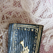 SOLD Rare early 1800's miniature French book 1 1/4  inch high Firmin Didot