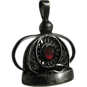 SOLD Antique Jeweled Chatelaine Wax Seal