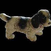 Antique Hubley Cast Iron Spaniel Dog Paper Weight
