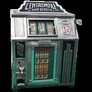 SOLD Cent A Smoke Gum Vender Trade Stimulator Slot Machine