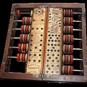 Antique Old West Mason & Co.  Faro Score Keeper