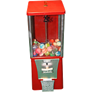 SOLD Vintage Eagle Gumball Machine for Candy Capsules or Gumballs Excellent 25 Cent
