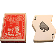 Freed Novelty The Crooked Pack Unusual Playing Cards 1969