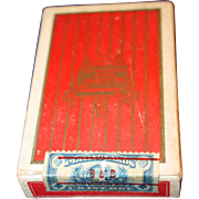 Waldorf Paper Products Playing Cards Sealed with Revenue Stamp  1940's