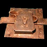 Large Antique Medieval Door Lock 1700-1800's