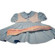Vintage Doll Dress for  Large Dolls 36 inches