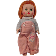 R & B Li'L Imp Doll  Carrot Top Bend Knee Walker
