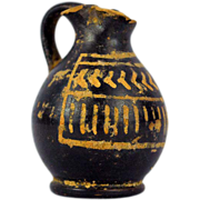 Ancient Greece, Apulia mid 4th century BC Xenon Ware Olpe