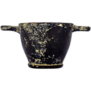 Apulia Ancient Greece, South of Italy circa 350 BC Skyphos Wine Cup