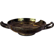 Campania Ancient Greece, South of Italy Kylix Pottery Cup