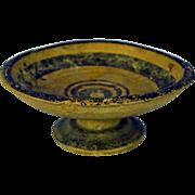 Antique Ancient Greece Apulia South of Italy Daunian Pedestal Bowl