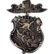 Montreal to New Orleans 1910 Masonic Medal
