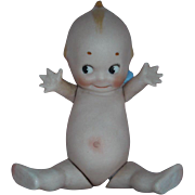 "SALE PENDING RARE 4"" All bisque Kewpie with Jointed at the Shoulders and Hips"