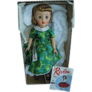 "SOLD WONDERFUL and Rare 15"" Mint In Box Ideal Miss Revlon Doll"