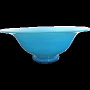 Steuben Blue Jade Transparent Art Glass Bowl