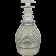 Irish Crystal Cut Glass Spirits Bottle Decanter 1790