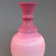 Unusual New England Peachblow Art Glass Vase