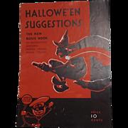 SALE Dennison's Halloween Suggestions The new Bogie Book 1931 Halloween issue Excellent!