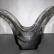 Tiffin #6555 Empress Flared Vase with Cutting