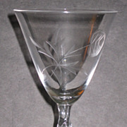 Tiffin Milburn Rose Water Goblets