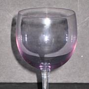 Tiffin Connoisseur Line Rhine Wine Glasses