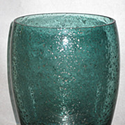 SOLD Rare Tiffin Vase# 5873 Pine with Mica