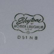 HLC Skytone 1963 Calendar Plate