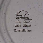 Jack Straw Constellation serving bowl